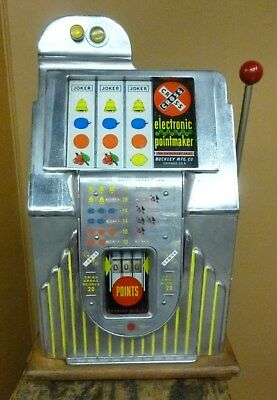 Buckley Pointmaker slot machine  with black box parts lot