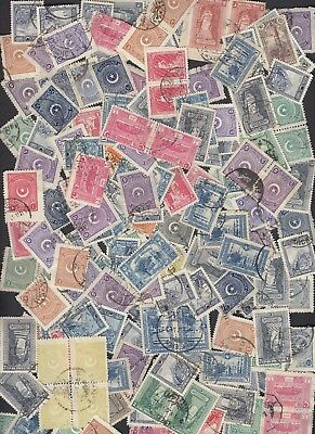 Turkey : accumulation (c200 items, heavily duplicated) mostly from the 1920s