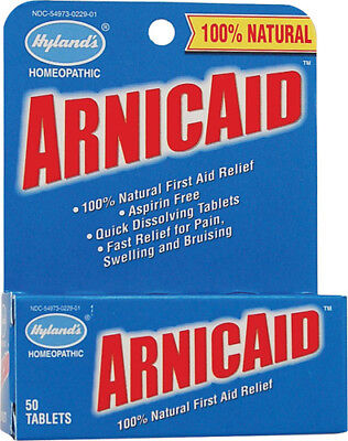 50, 100 or 200 Hyland's Homeopathic ArnicAid or ArniSport Natural Tablets CHOOSE