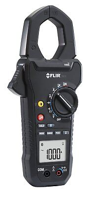 FLIR Systems CM78 1000A AC/DC Clamp Current Ammeter Meter with IR Thermometer