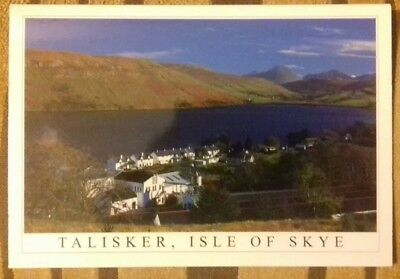Talisker Distillery Scotch Whisky Isle Of Skye Postcard