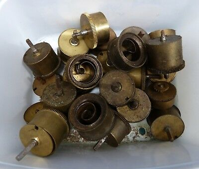 Job Lot Of Assorted French Clock Barrels.