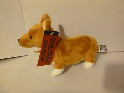 Ein Cowboy Bebop Plush Puppy Dog Stuffed Animal Toy Brown White Anime Corgi