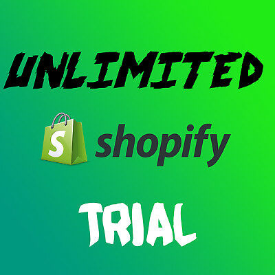 UNLIMITED Shopify Trial ✓ No time limit ✓ All features ✓ Don't pay $29/m