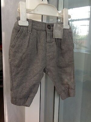 Baby Boys Next Winter Trousers Age 3-6 Months