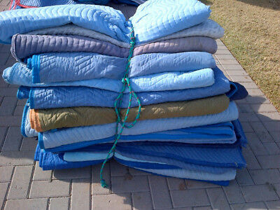 Super Heavy Duty Professional Grade Moving Blankets/pads - Excellent Condition
