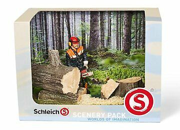 Schleich Forestry Scenery Pack