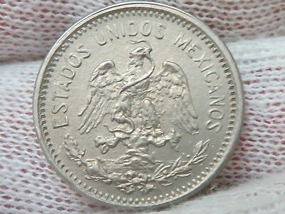 1906 Mexico Coin 5 Centavos with MINT LUSTRE