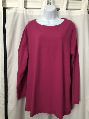 450cee71687 Lane Bryant 18 20 2X Womens Plus Size Casual Long Sleeve Shirt Top Blouse