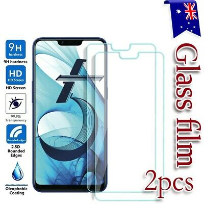 [2 Pack] Oppo AX5 AX5s AX7 Tempered Glass LCD Anti Scratch Screen Protector Film