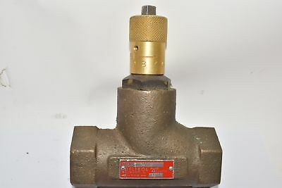 NEW Deltrol Fluid Products EN40B Direct Acting Hydraulic Needle Valve