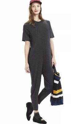 NWT Hatch Collection Maternity Walkabout Jumper Charcoal Size 3