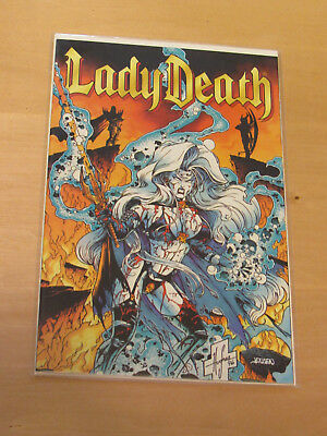 Lady Death #1 The Reckoning (Chaos Comics 1996)