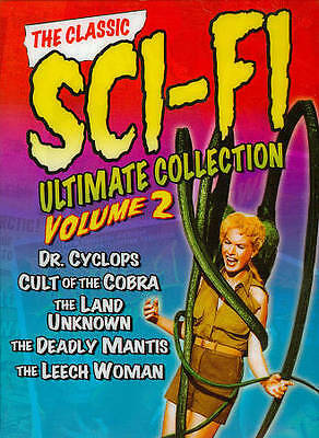 The Classic Sci-Fi Ultimate Collection, Vol. 2 (DVD, 2011, 3-Disc Set) - New