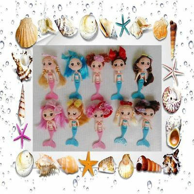 Different Decoration Girl's Doll Mermaid Mini Ddung