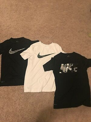 Boys L and XL Nike Dri-fit Shirts - Great Condition!