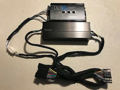 2015 -18 Ford Mustang Factory Radio 400 Watt Amp And Lc2I Sub Amp Converter