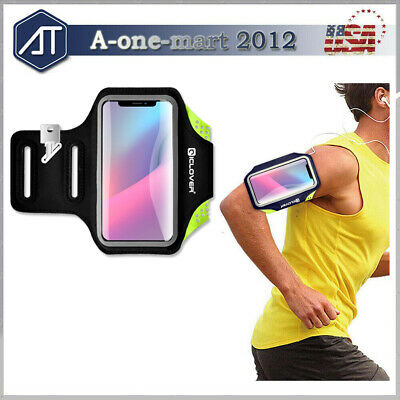For iPhone XS Max/XS/XR/X Sports Armband Case Running Gym Jogging Cover Arm Band