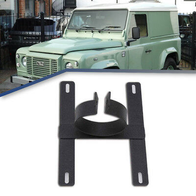 License Plate Mounting Bracket Front Bumper Bull For Grille Guard Jeep Wrangler