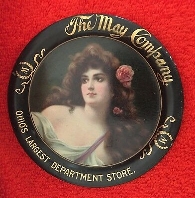May Company Department Store Tip Tray- Cleveland, Ohio !!