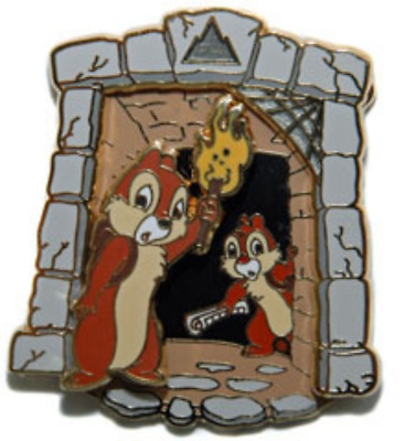 Disney Pin 60312 WDW Expedition: PINS Tomb Explorers Chip n' Dale LE 400 !