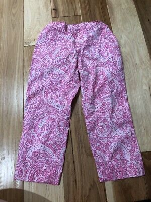 Lilly Pulitzer Girls Size 10 Capris Seahorse Print