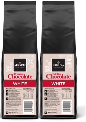 Arkadia White Hot Chocolate Powder 2kg