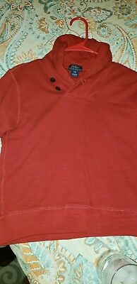 Boys Polo Ralph Lauren  red pullover, Size small