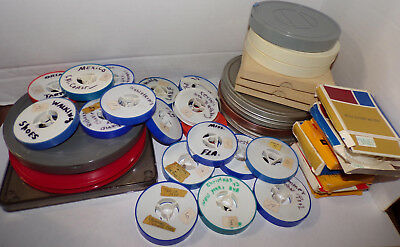 Vintage 8mm File Lot Home Movies Travel Chuch 1960s 1970s