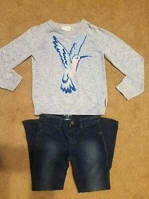 Girls Size 7/8 Sweater And Jeggings: Children's Place & Cat And Jack