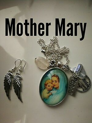 Code 397 Peace with Mother Mary infused Necklace Doreen Virtue Practitioner