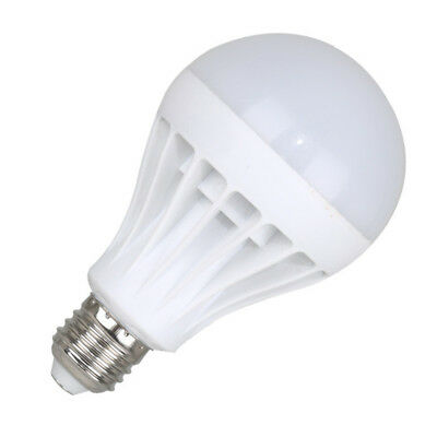 7w Led E27 Rechargeable Smart 220v 15w White Energy 130° Bulb Light 12w Lamp 9w