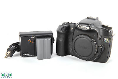 Canon EOS 50D 15.1mp DLSR Camera Body W/ Battery and Charger
