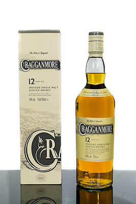 Cragganmore 12 Years Old Speyside Single Malt Scotch Whisky (700ml)
