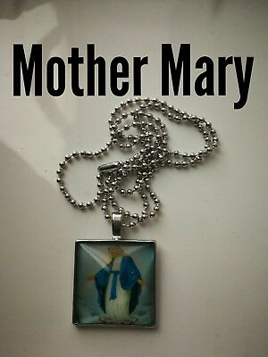 Code 398 Mother Mary Jesus n Jospeh Charged n Infused Necklace Confirmation Gift
