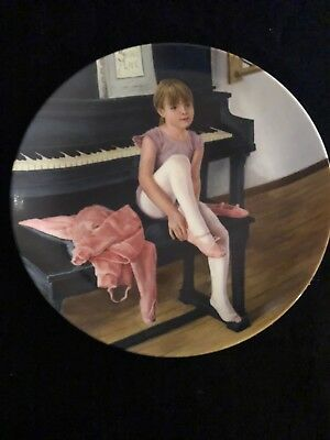 """Knowles """"Hopes And Dreams"""" Collectible Plate"""