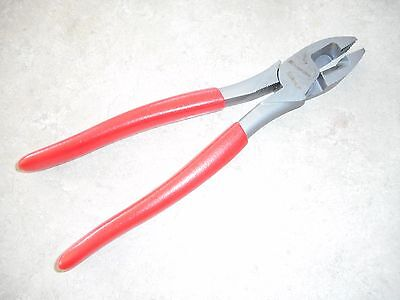 """Snap On Tools 59AHLP  9 1/4"""" Lineman's Pliers Cutters Crimper"""