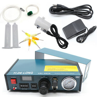 Digital Solder Paste Glue Dropper Liquid Auto Dispenser Controller YDL-983A