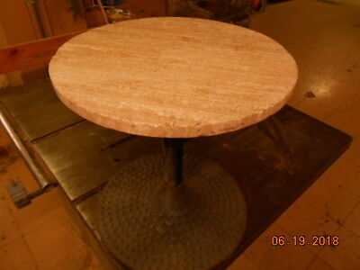 VINTAGE PLAYBOY CLUB MARBLE TOP END TABLE 1971 VERNON NJ paul dobbs BUENA PAR