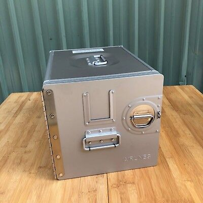 Airline Airplane Galley Box Aluminum Airbus Aircraft Galley Metal Box