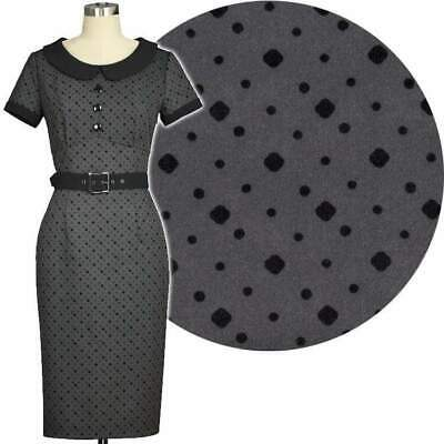 Chic Star 50s Dotty Polka Dot Pencil Dress Retro Prom Vintage Pin Up Rockabilly