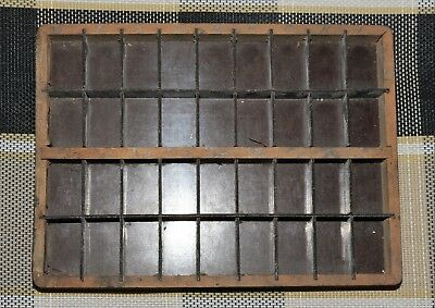 Original Adana Wooden Typecase Tray Draw Letterpress printer # adana  8x5 user #