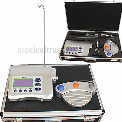 NEW Dental Implant motor Drill Micromotor machine +20:1 push button contra angle