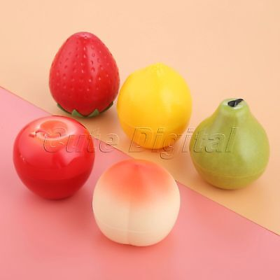 30g Cosmetic Empty Jar Pot Cream Lip Balm Box Storage Container Cute Fruit Shape