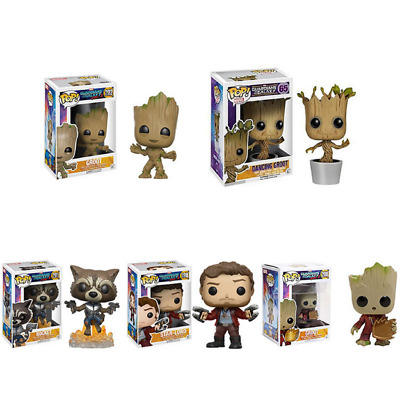 Guardians of the Galaxy 2 - Marvel Action Figure - Groot - Rocket - Star Lord