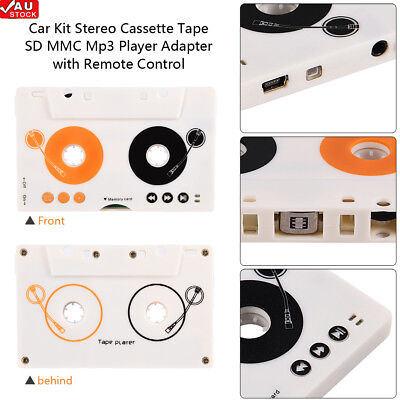 Hot Car Tape Cassette to AUX Audio Adapter Converter for iPhone iPod MP3 Stereo