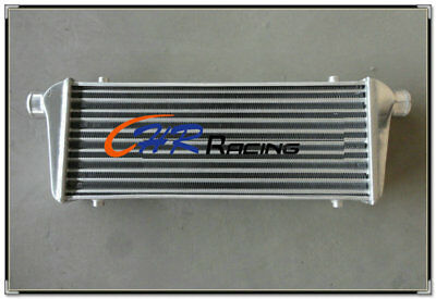 "Universal TURBO ALUMINUM INTERCOOLER 550 x 230 x65mm 2.25"" IN/OUTLET Bar & Plate"