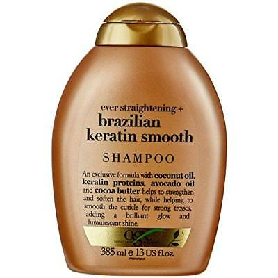 OGX Ever Straightening + Brazilian Keratin Smooth Shampoo 385 ml