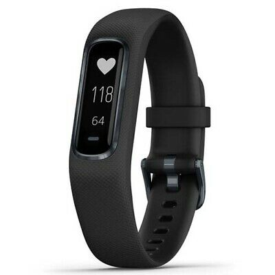 Garmin Vivosmart 4 (Large) - Black/Midnight with GEN GARMIN WARR