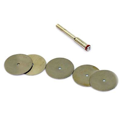 2X(22mm Disc Wheel Cutting Blade Wood Saw for Drill Multi Rotary Tool N4D6)